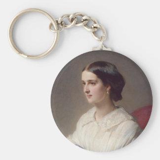 Countess Olga Shuvalova, 1858 Basic Round Button Keychain