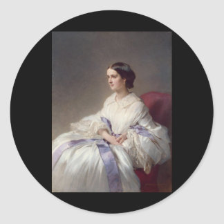 Countess Olga Shuvalova, 1858 Classic Round Sticker