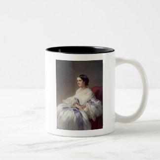 Countess Olga Shuvalova, 1858 Two-Tone Coffee Mug
