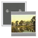 Countess Weir, Exeter, England classic Photochrom Pinback Buttons