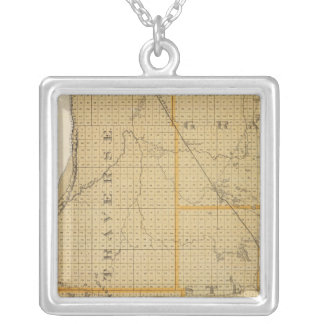Counties of Grant, Traverse, Minnesota Necklace