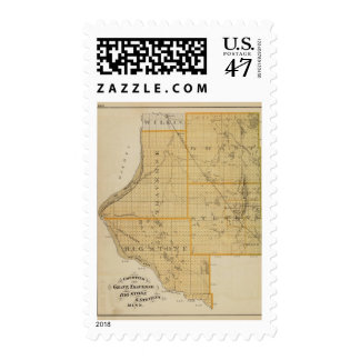 Counties of Grant, Traverse, Minnesota Postage