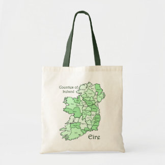Counties of Ireland Map Bags