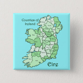 Counties of Ireland Map Button