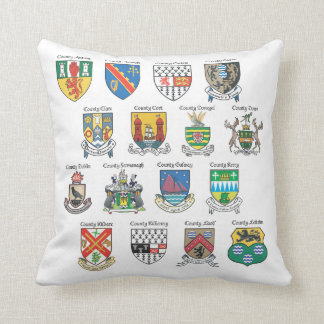 Counties of Ireland Pillow