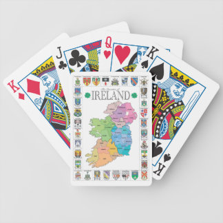 Counties of Ireland Playing Cards