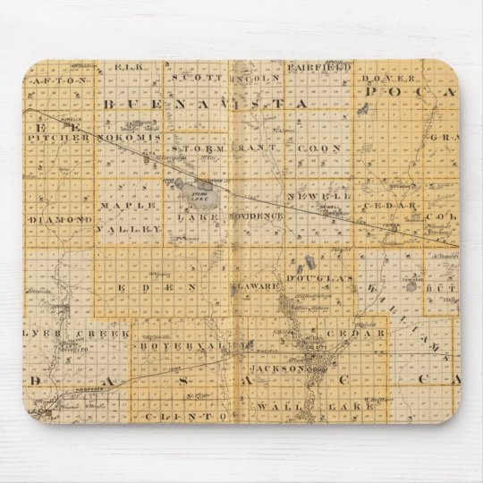 Counties of Pocahontas, Cherokee Mouse Pad