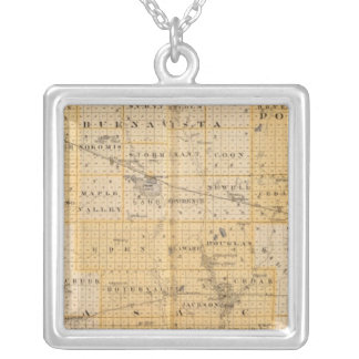 Counties of Pocahontas, Cherokee Silver Plated Necklace