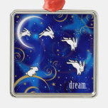 Counting Bunnies Christmas Tree Ornament