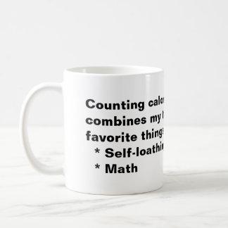 Counting Calories Classic White Coffee Mug