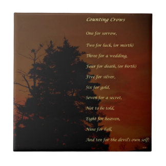 Counting Crows Ceramic Tiles
