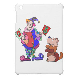 Counting dog and clown case for the iPad mini