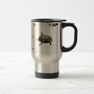 Counting Dolphins Travel Mug