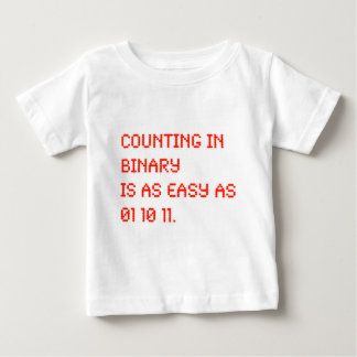 Counting in Binary Baby T-Shirt
