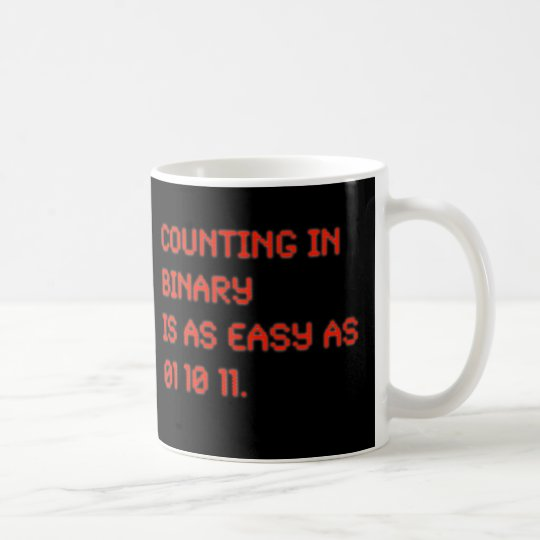 Counting in Binary Coffee Mug