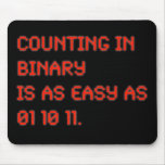 Counting in Binary Mouse Mat