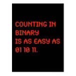 Counting in Binary Post Card