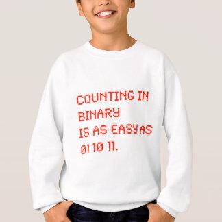 Counting in Binary Sweatshirt