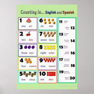 Spanish Educational Posters   Zazzle