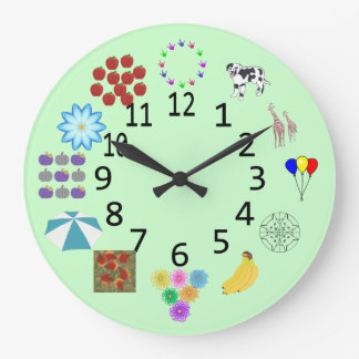 Counting Learning Clock with Numbers
