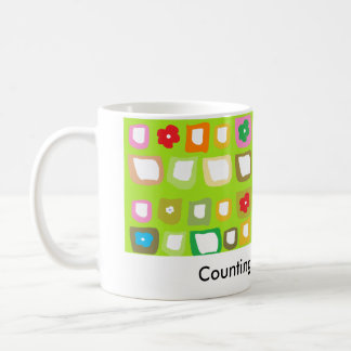 Counting my blessings! coffee mug