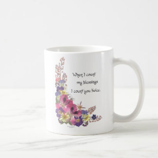 Counting my Blessings Coffee Mug