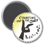 Counting of the Omer 3 Inch Round Magnet