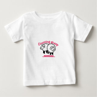 Counting Sheep Baby T-Shirt