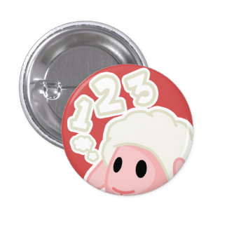 Counting Sheep Button