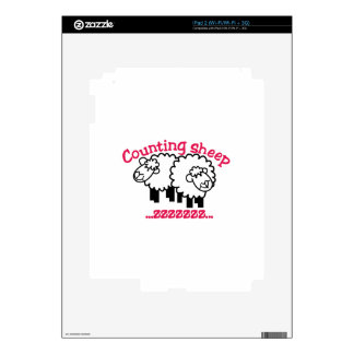 Counting Sheep Decal For iPad 2