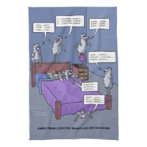 Counting Sheep Kitchen Towel