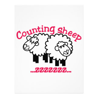 Counting Sheep Letterhead