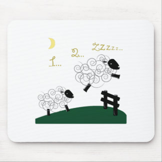 Counting Sheep Mouse Pad