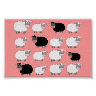 Counting Sheep Posters