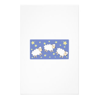 Counting Sheep Stationery Paper