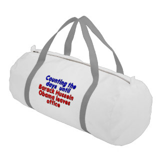 Counting the days until Barack Hussein Obama... Gym Bag