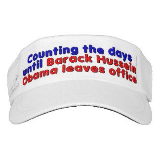 Counting the days until Barack Hussein Obama... Visor