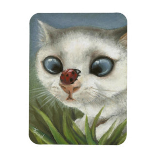 Counting the spots rectangular photo magnet