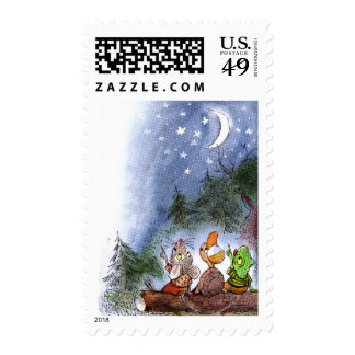 Counting the Stars Postage Stamps