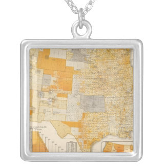 countries assessed valuation square pendant necklace