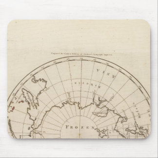 Countries situate about the North Pole Mouse Pad