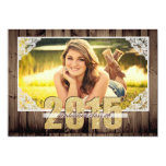 "Country 2015 Graduation Announcement 5"" X 7"" Invitation Card"
