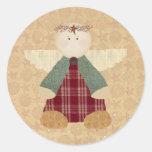 Country Angel Sticker