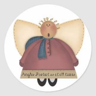 Country Angel Stickers