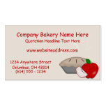 Country Apple Pie D2 Business Cards