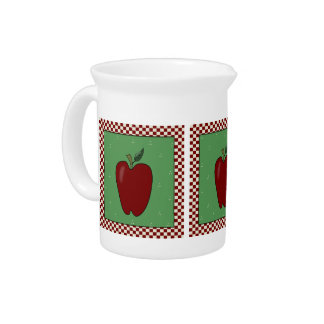 Country Apple Pitcher