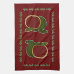 Country Apples Hand Towels