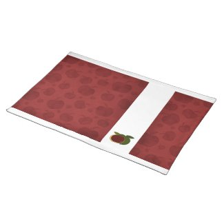 Country Apples (red apples) Place Mat
