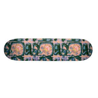 Country Art Deco Design Skateboard Deck