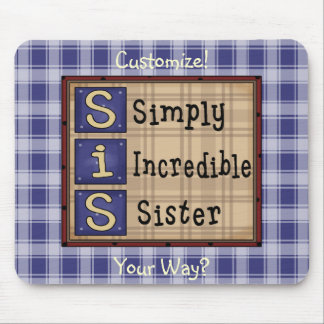 Country Art (SIS) Checkered Custom Mousepad